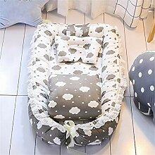 Emmala Baby Nestchen Tragbar Quilt Kopfkissen