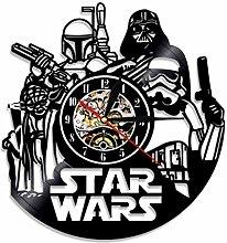 Emmala Star Wars Wanduhr Vinyl Record Wanduhr