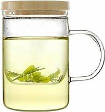 Emoi 450ml Teekanne, Pyrexglas Brewing Teetasse,