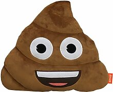 Emoji-Kissen, Plüsch Poop Multi