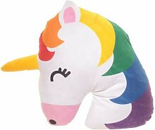 Emoji-Kissen Rainbow Unicorn 32 x 32 cm