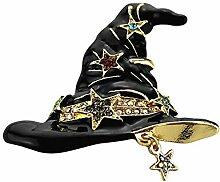 Emorials 1 Pcs Brosche für Damen Magischer Hut