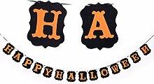 Emorials 1 Set Bunting für Halloween Fahne Horror