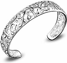 emorias 1Frauen eleganten Charme Armband Hollow