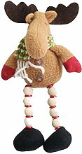 Emorias 1 Pcs Spielzeug Plüschtier Weihnachten