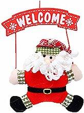 Emorias 1 Stück Weihnachtsbaum Anhänger Tür