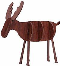 Emorias 1PC Deko-Figur Weihnachten DIY Elch