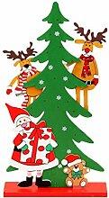 Emorias 1PC Deko-Figur Weihnachten Weihnachtsbaum