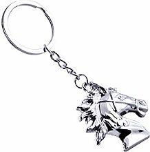 Emorias 1PC Keychain Fashion Pferdekopf