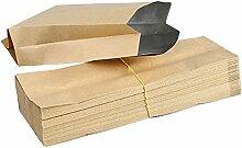 Emorias 50 Stück Beutel für Lebensmittel Leder