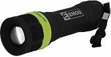 EMOS LED Kunststoff-Taschenlampe - 1 W LED, für 3 x AAA, FOKUS, HL-PF0246