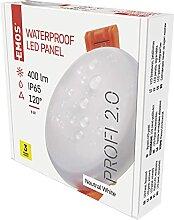 EMOS LED Panel Einbauleuchte 6W, extra-flacher 400