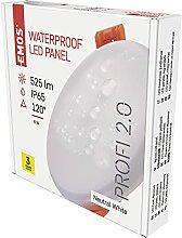 EMOS LED Panel Einbauleuchte 8W, extra-flacher 525