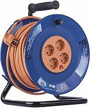 EMOS Profi-Kabeltrommel, 40m Kabel mit 4