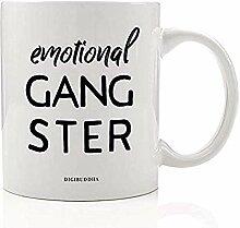 EMOTIONAL GANGSTER Kaffee Tee Becher Geschenkidee