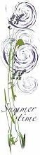 emotiontextiles Flächen-Schiebevorhang 1044 Summertime lila/60 x 260 cm/made in Germany/100% Polyester