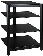 EMPIRE HiFi Rack GR-04 BB schwarz / schwarz
