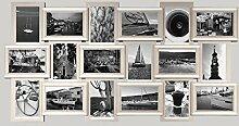 empireposter 18er Collage Berlin Klassik Silber -