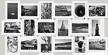 empireposter 18er Collage Berlin Klassik weiß -