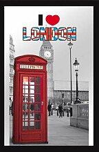 empireposter 632548 London - I Love - Bedruckter