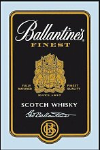 empireposter - Ballantines - Black Label - Größe