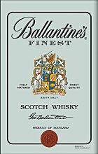 empireposter - Ballantines - Logo - Größe (cm),