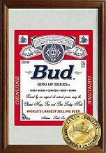Empireposter - Budweiser - King of Beers - Größe