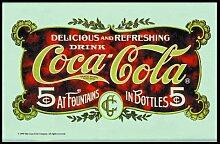 empireposter - Coca Cola  - 5 Cent - Größe (cm),