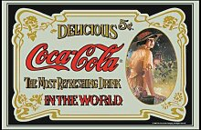 empireposter - Coca Cola  - Retro - Größe (cm),