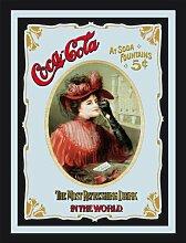 empireposter - Coca Cola  - Vintage - Größe