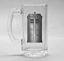empireposter Doctor Who - Tardis - Bierglas Krug