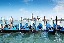 empireposter Foto-Tapete - Gondolas in Venice -