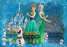 empireposter Frozen - Foto-Tapete Eiskönigin Anna