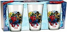 empireposter Glas-Set - Spider-Man Trio - 237 ml -