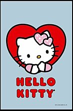 empireposter - Hello Kitty - Red Heart - Größe