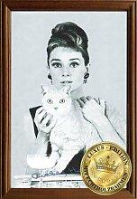 Empireposter - Hepburn, Audrey - Cat - Größe
