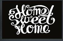empireposter Home Sweet Home - Fussmatte, Größe: