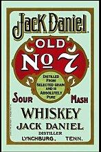 empireposter - Jack Daniels - Retro - Größe