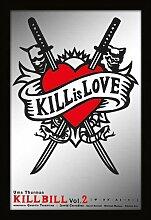 empireposter - Kill Bill - Kill is love - Größe