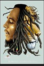 empireposter - Marley, Bob - Lion - Größe (cm),