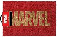 empireposter Marvel Logo - Fußmatte, Größe: 60