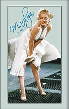 empireposter - Monroe, Marilyn - Blue Signature -