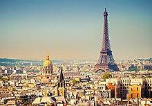empireposter Paris - Vlies Foto-Tapete Wallpaper
