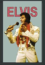 empireposter - Presley, Elvis - Weiße Kleidung -