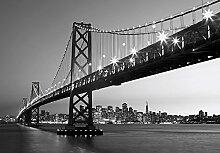 empireposter San Francisco Skyline - Vlies