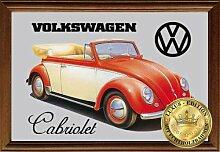 Empireposter - Volkswagen - Beetle Cabriolet -