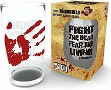 empireposter Walking Dead - Fight Dead - Glas 500