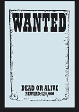 empireposter - Wanted - $20.000 Reward - Größe