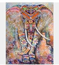 Empty Bunter Elefantenteppich, Orientalische