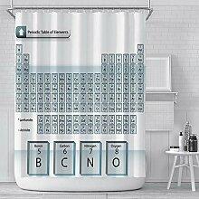 empty Duschvorhang Element Periodensystem